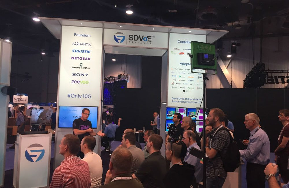 SDVoE Alliance Rides Momentum Into InfoComm 2019