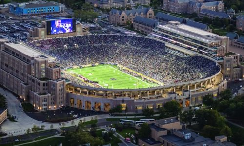 ESCO Totally Transforms Notre Dame Stadium