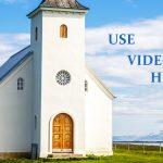 house of worship installations AV over IP video