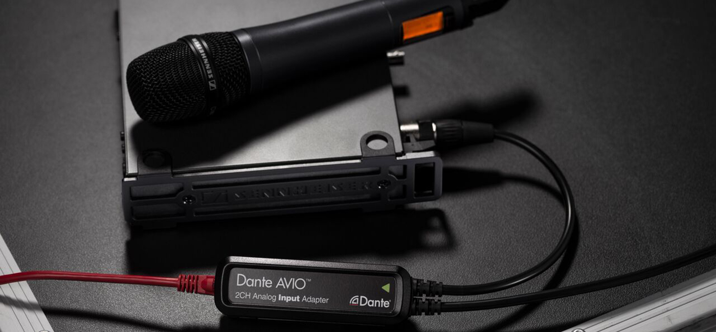 Network All Your Legacy Audio Gear with Dante AVIO™