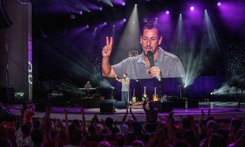 L-Acoustics K2 Provides the Punchline to Adam Sandler 100% Fresher Tour