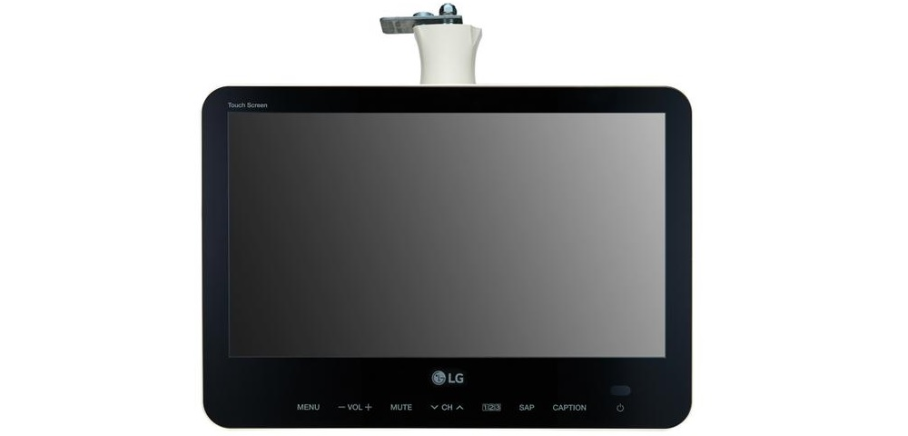 LG 15LU766A Smart Touchscreen Offers Interactive Experience for Health Care Patients
