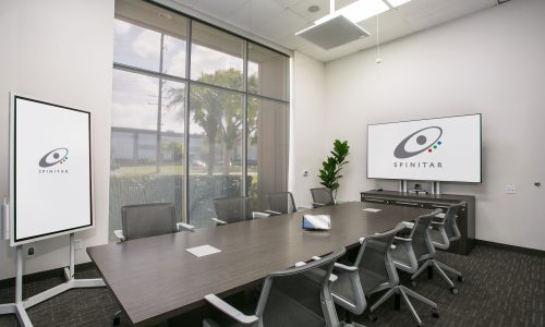 Spinitar Meeting Room Overhaul Helps Customers and Employees