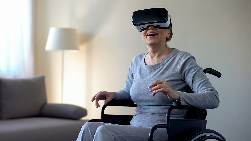 VR Is Being Designed for an Aging Population Because It Can Help Them