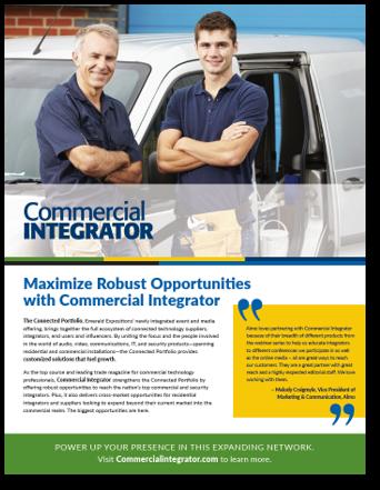 Commercial Integrator 2019 Media Kit Cover