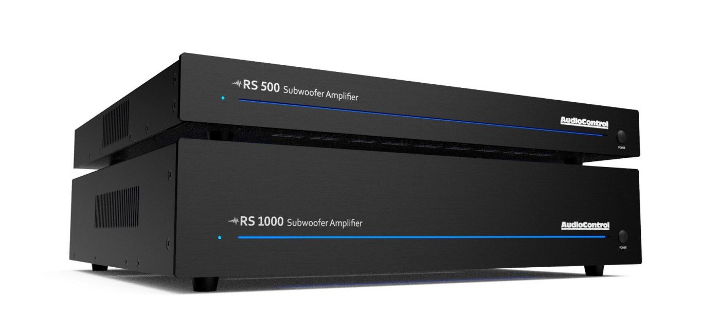 AudioControl Introduces RS Series Subwoofer Amplifiers with DSP