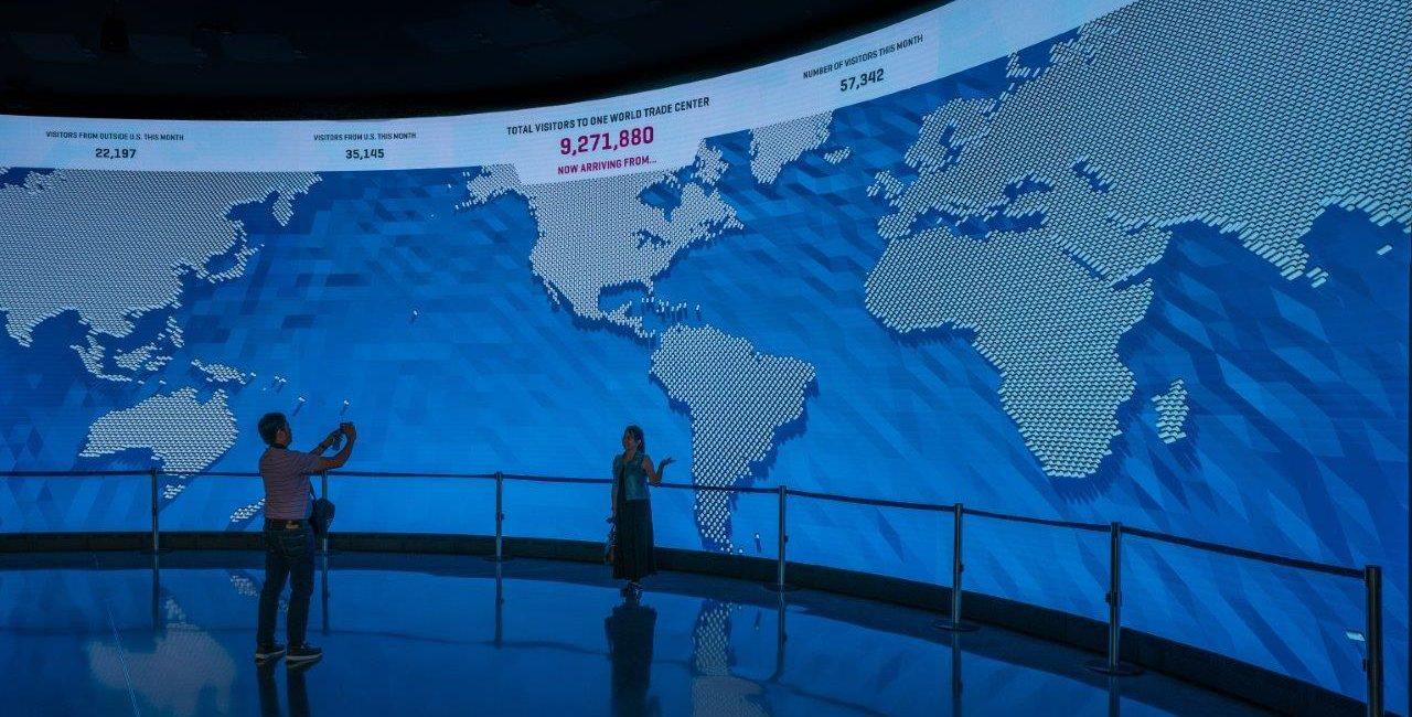 LED Video Walls Enhance Visitors' Journey at One World Observatory