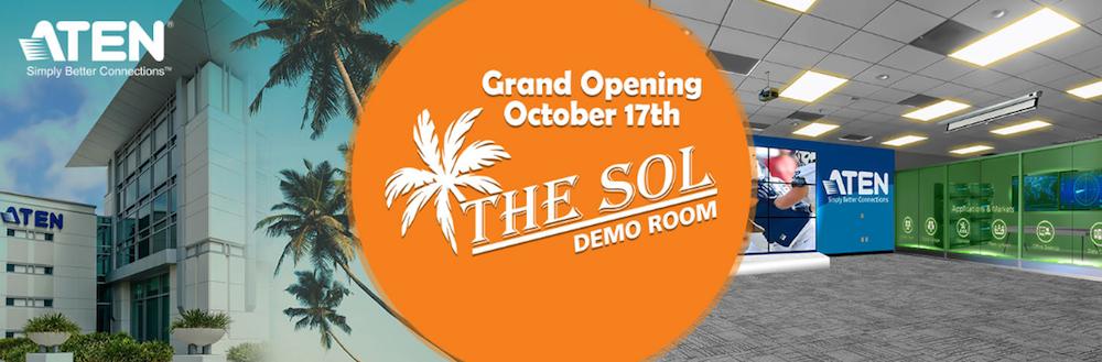 """ATEN Opens """"The Sol"""" Demo Center for Pro AV Training, Events"""