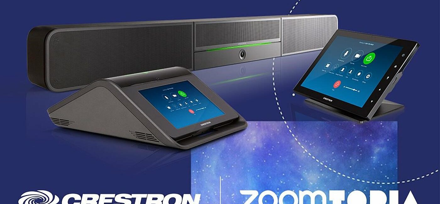 Crestron Flex for Zoom Rooms Makes Worldwide Debut at Zoomtopia 2019 Conference