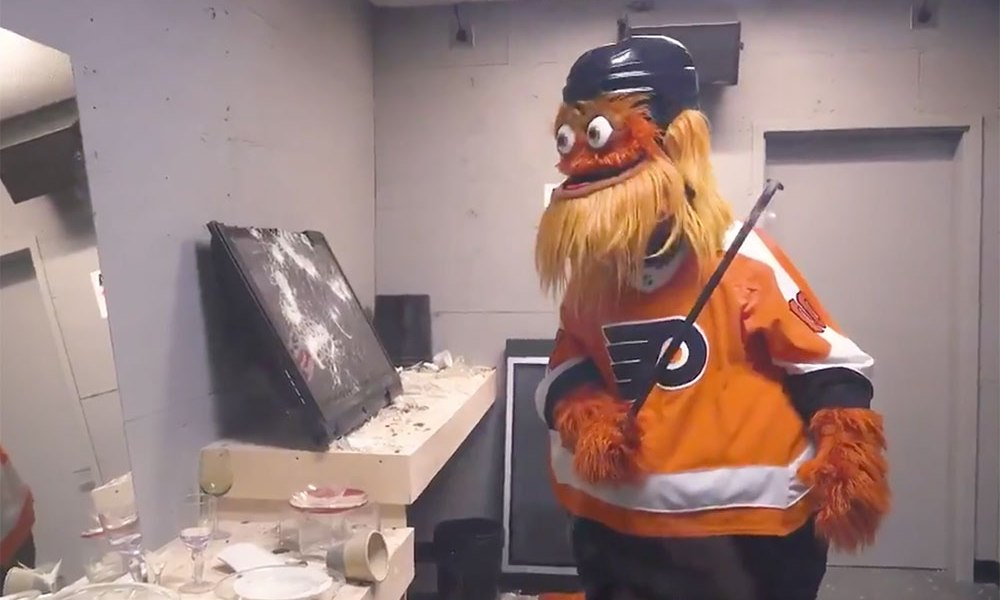 Philadelphia Flyers give fans new way to express anger with rage room