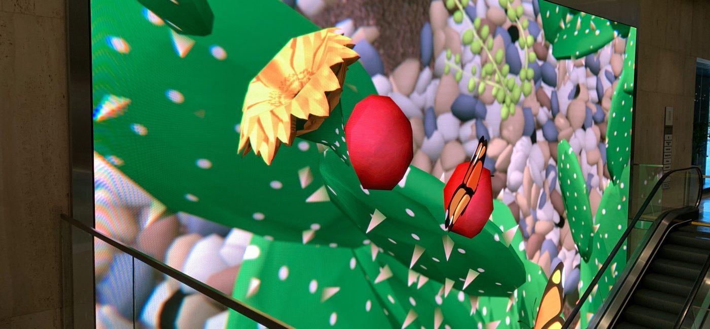 NanoLumens Revamps 1100 Louisiana Lobby with Vibrant LED Videowall