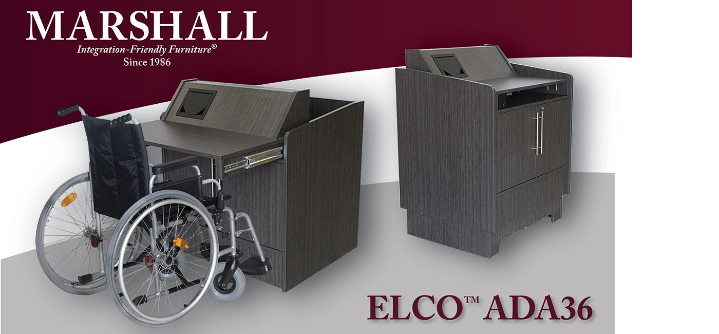ELCO™-ADA36: A Refreshing and Innovative Take on ADA Furniture