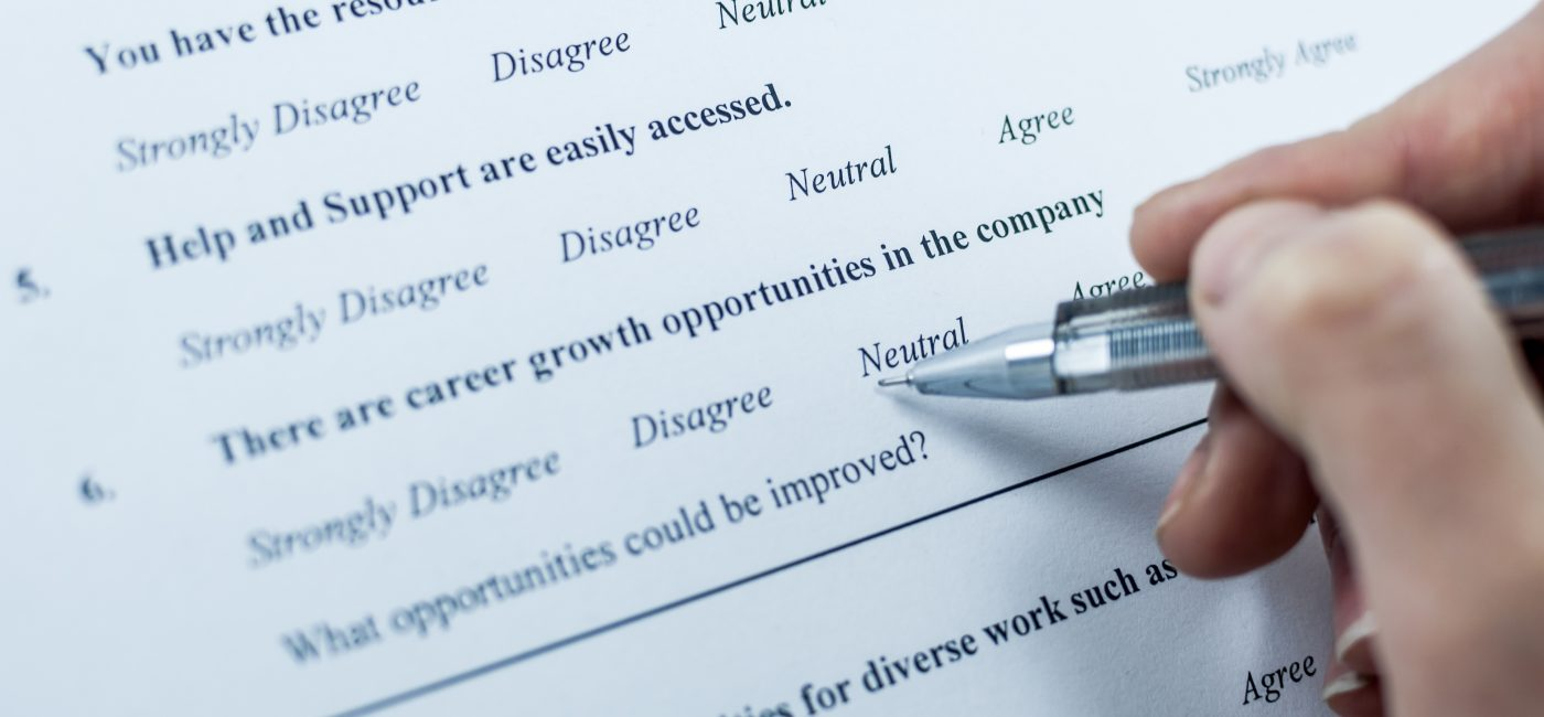 Survey Says: About 25% of People Are Lying on Those Annual Employee Pulse Surveys