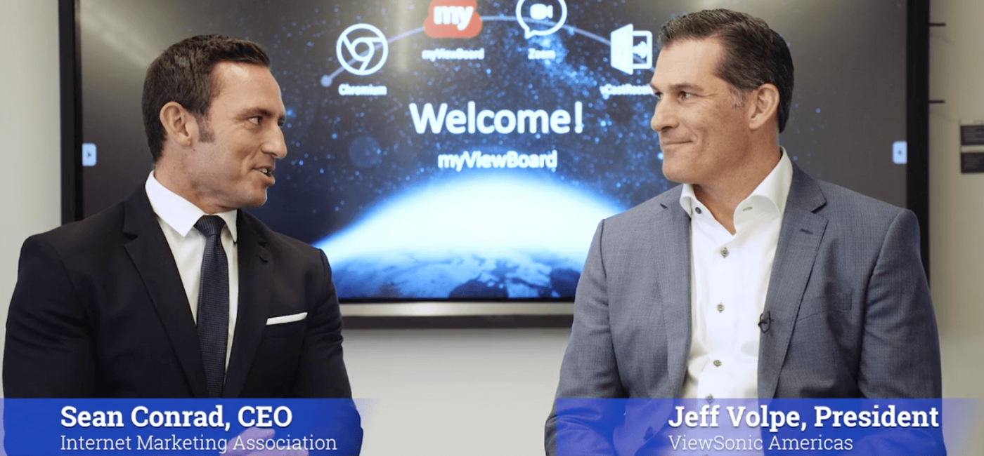 ViewSonic Americas President Highlights Collaboration, Tech, Inspiration and Leadership in New Video Series