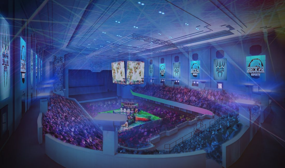This Esports Arena Project In An Abandoned Building Illustrates AV's Opportunity