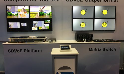 SDVoE Shootout at the ISE 2020 Corral