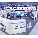 Crestron ISE 2020 booth