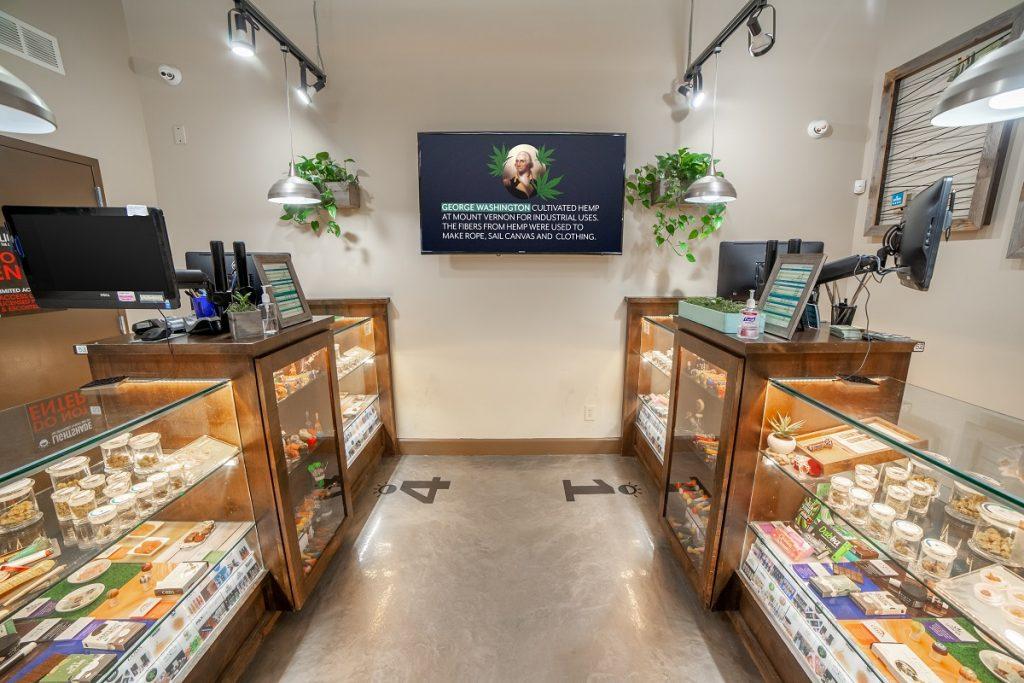 Lightshade Cannabis Digital Signage
