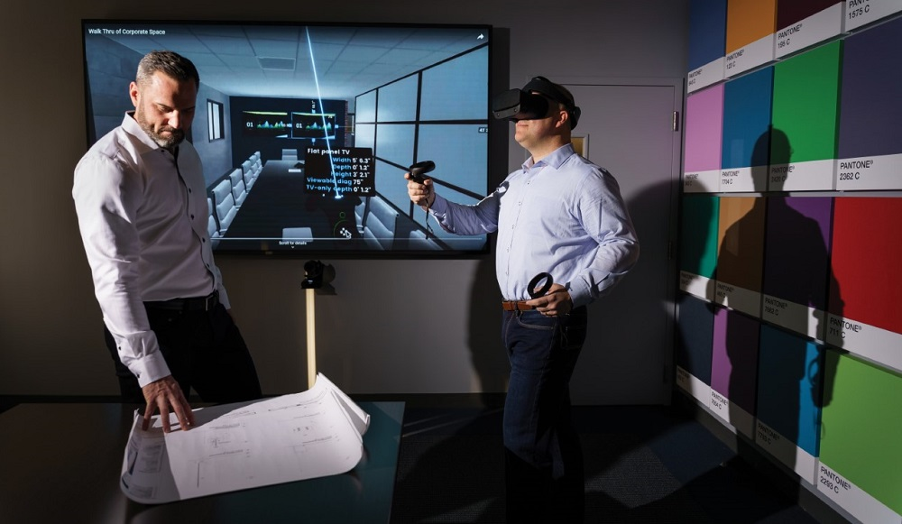 DGI Communications, VR room design platform