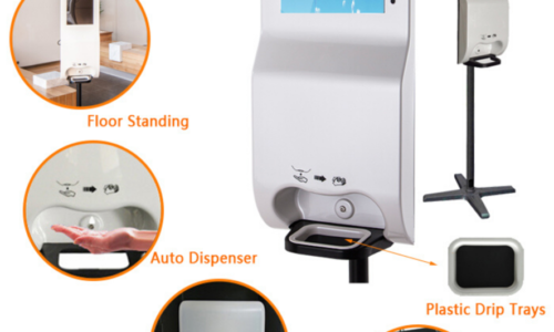Hand-Sanitizing Kiosks