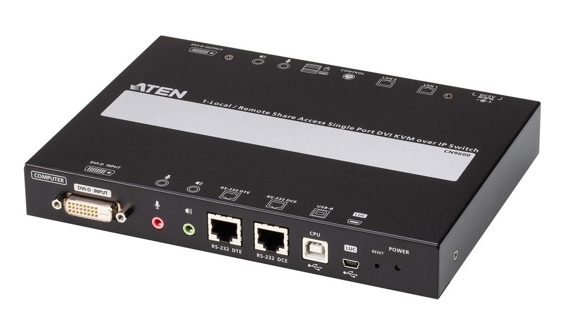 ATEN Technology CN9600 KVM over IP Switch Allows Work from Anywhere