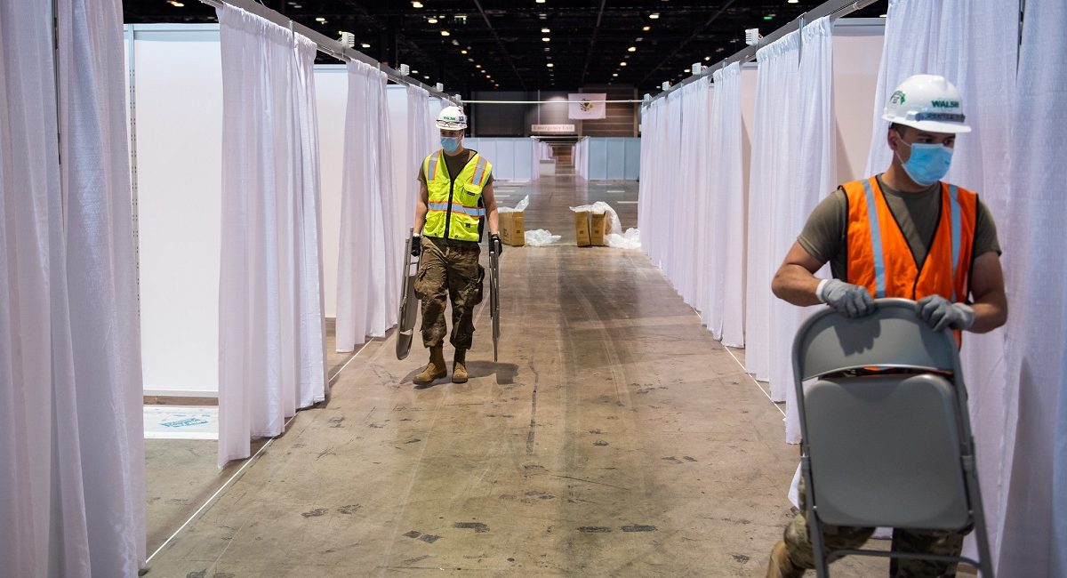 Learn How IT Firms Helped Transform a Convention Center into a COVID-19 Hospital … in Two Weeks