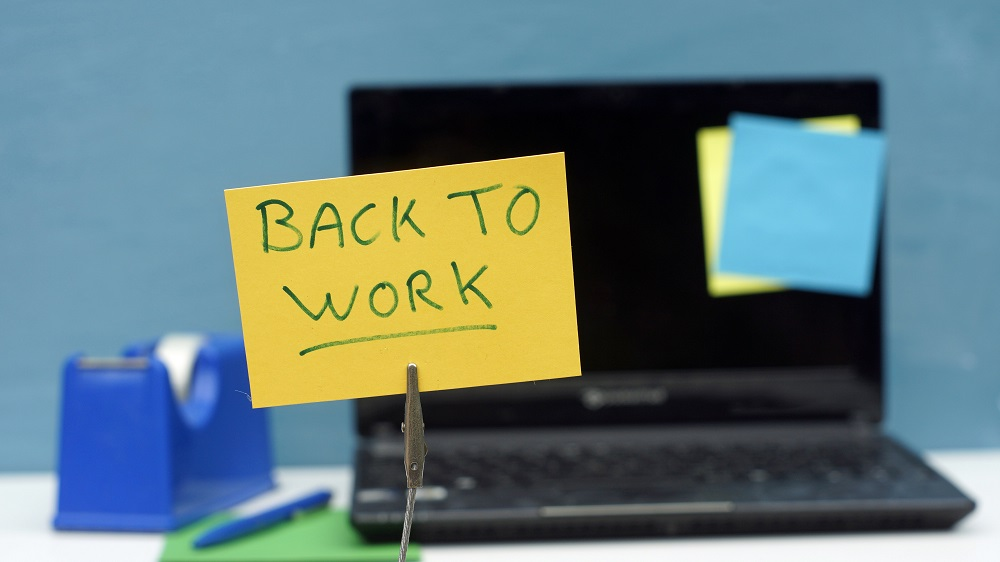 Our Return to Work Could Take Some Adjustment of Expectations