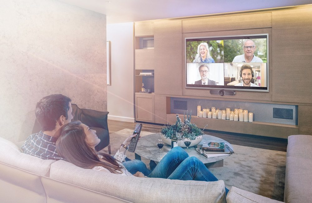 Crestron Announces HomeTime Home UC Solution