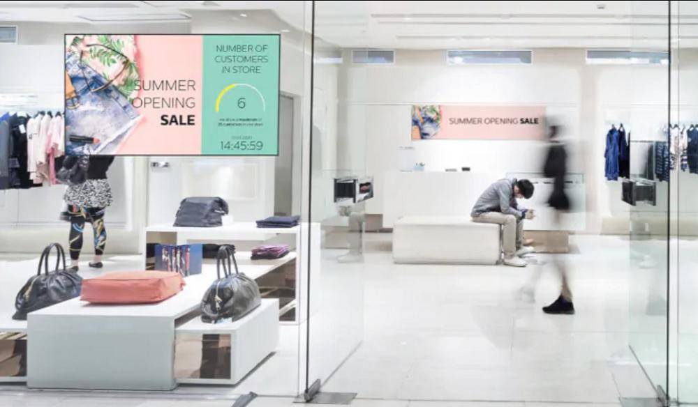 Philips New Customer Line Management Signage
