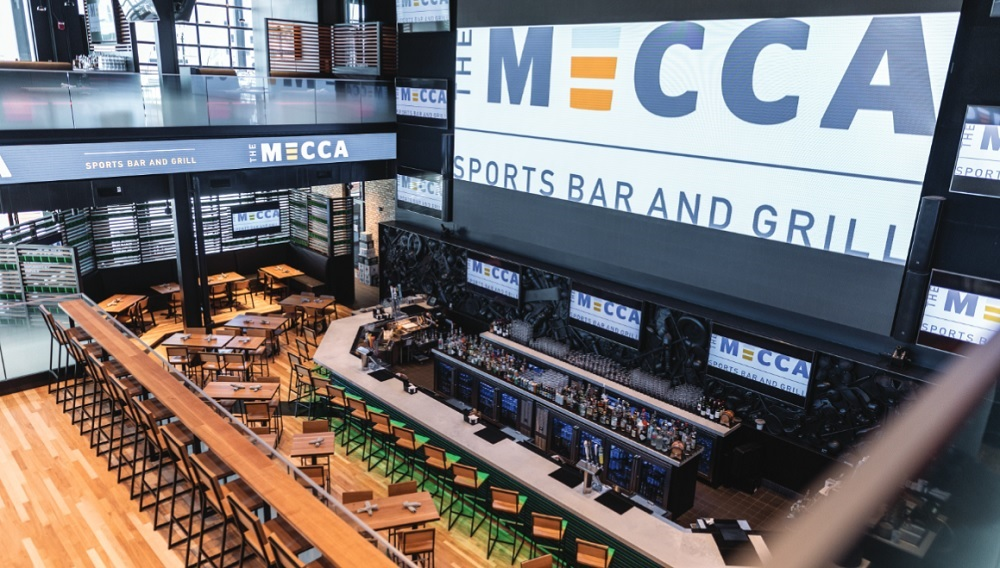 Mecca Sports Bar AV Experience is Almost Like an Arena
