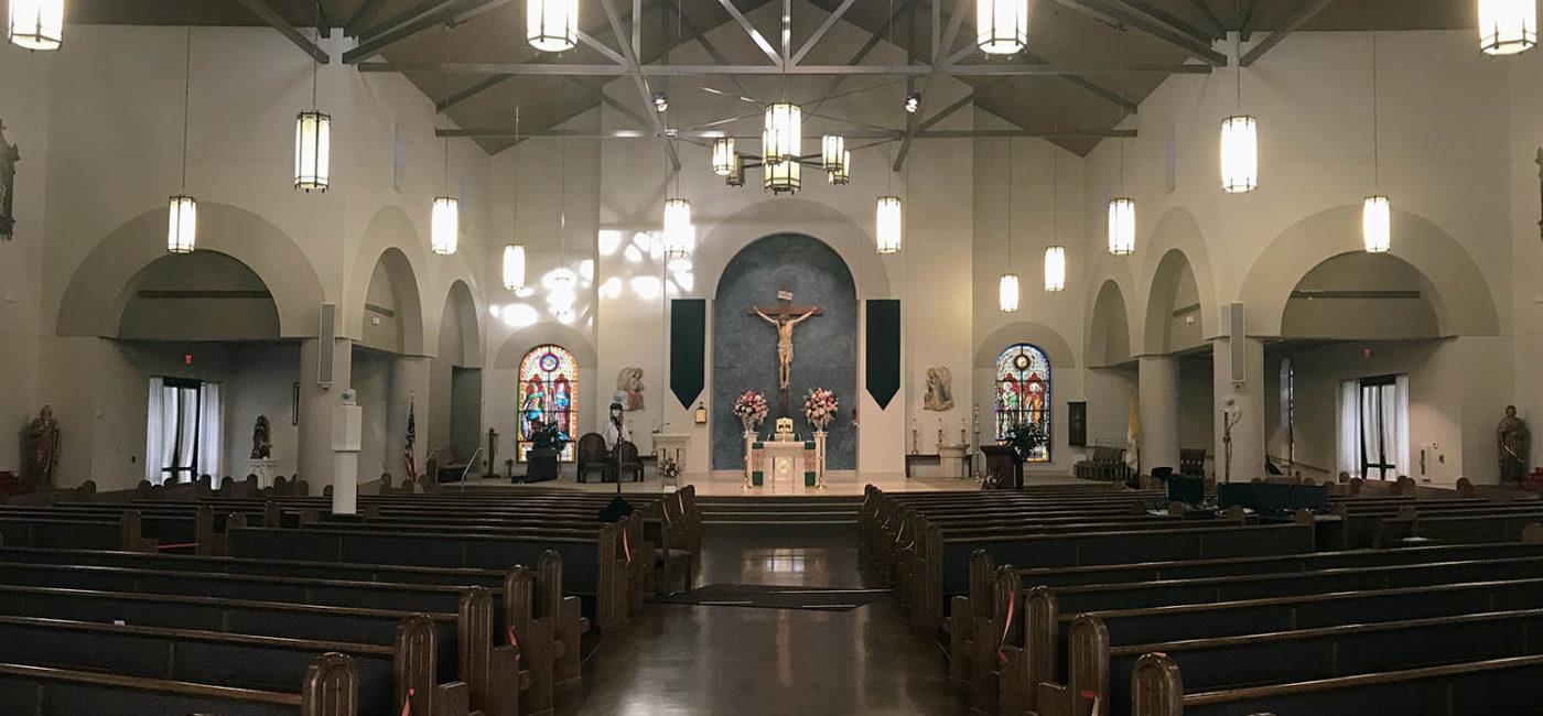 Ascension of Our Lord Catholic Church Improves Intelligibility with Danley SBH10 Loudspeakers