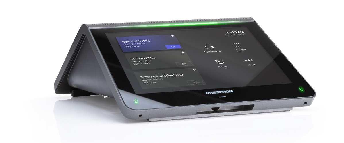 Crestron Introduces Flex MM Tabletop Conferencing System