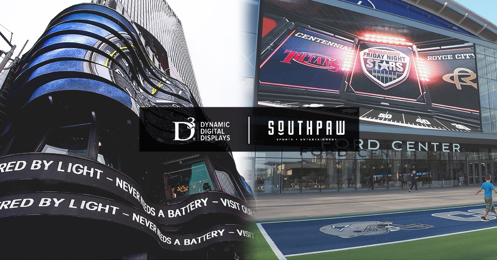 Southpaw Live and D3LED Merger Combines LED Companies