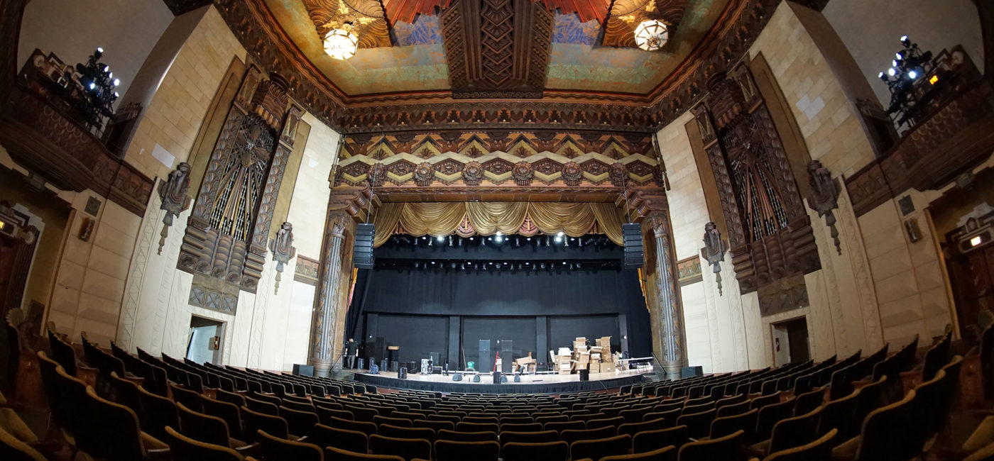 Warner Grand Theatre Gets 21st-Century Sound as Part of Makeover