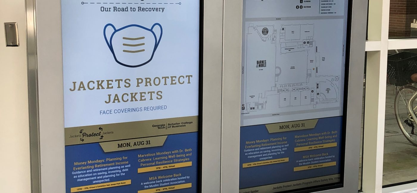 22Miles Provides Digital Signage Technology to Connect Georgia Tech University Campus