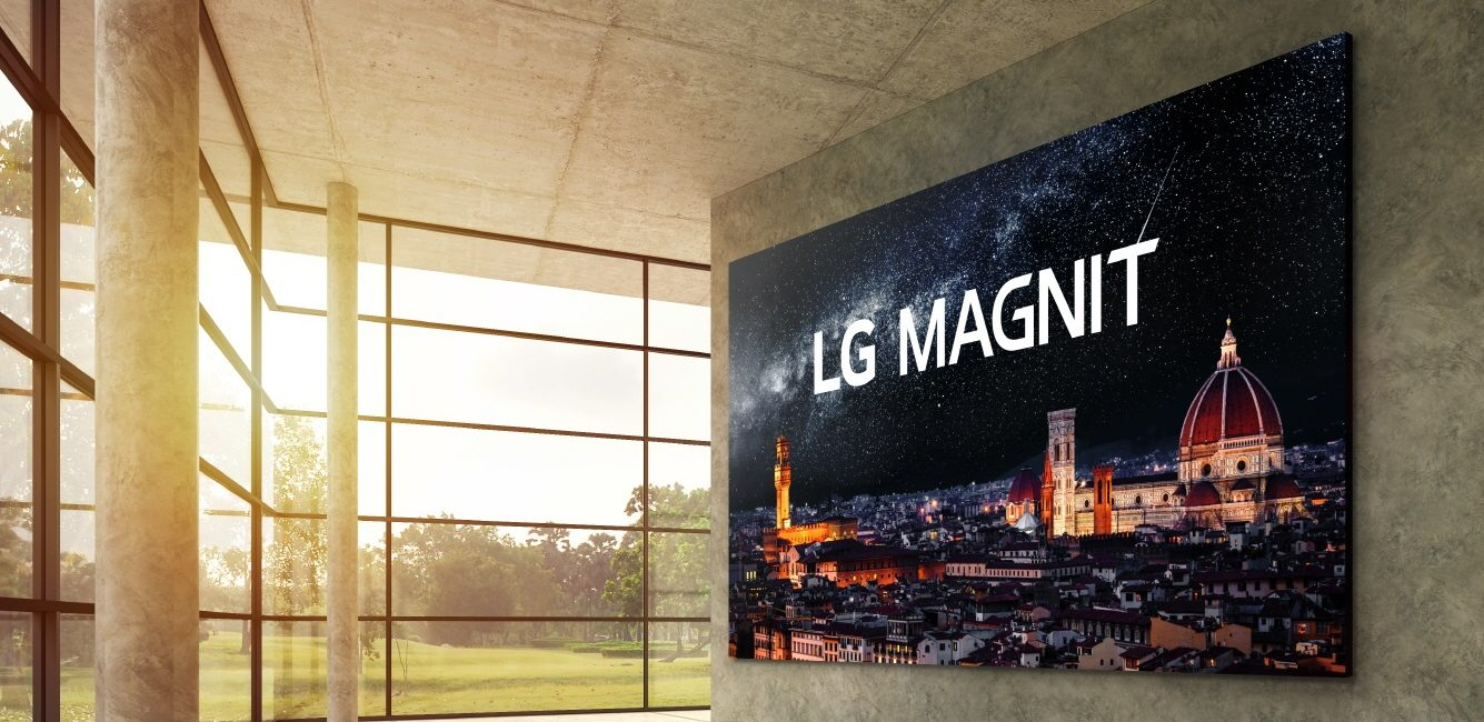 LG Releases LG MAGNIT, Company's First Commercially-Available Micro LED Solution