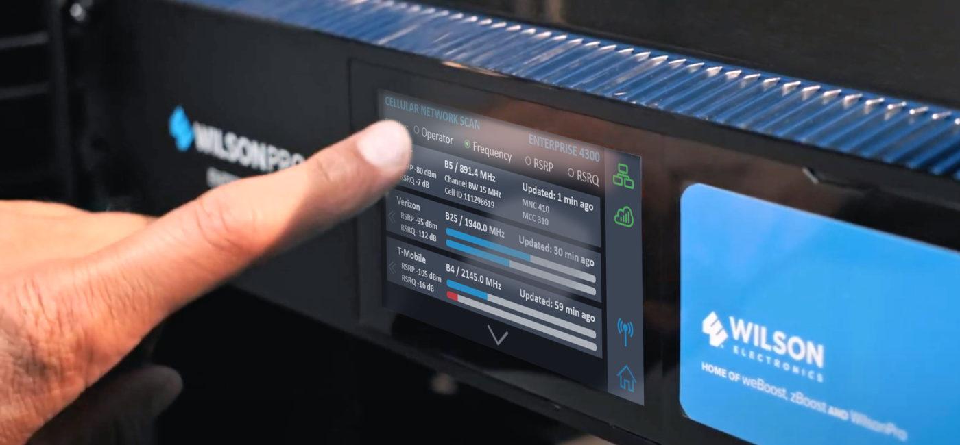 WilsonPro Enhances Enterprise 4300/4300R Cellular Amplifiers