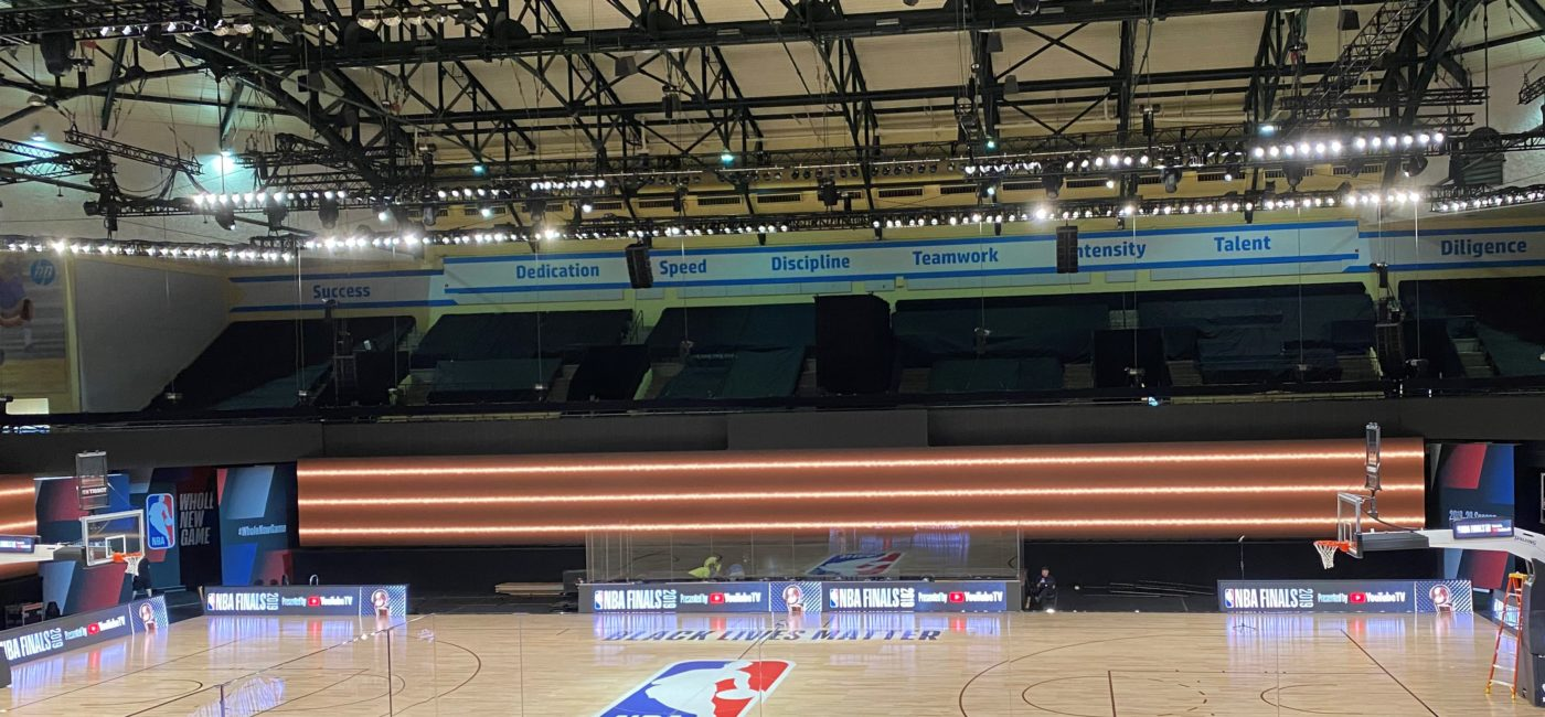 Firehouse Productions Brings Live Energy to NBA Bubble