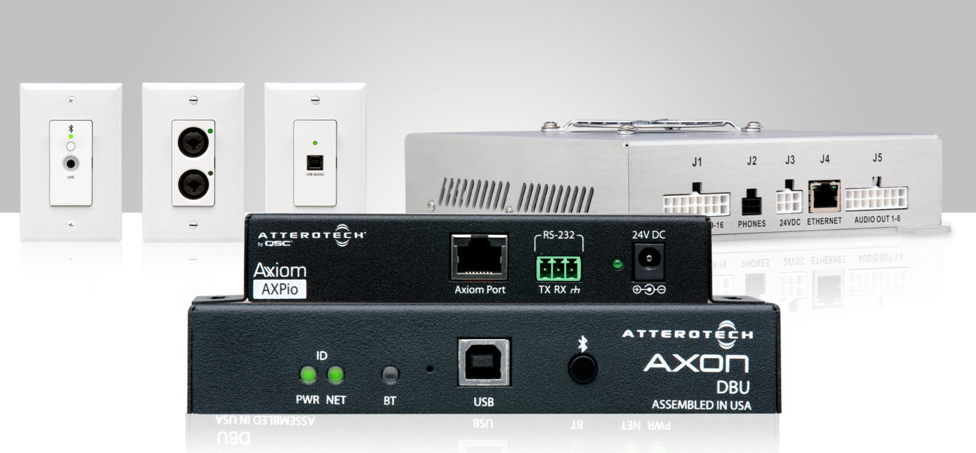 QSC Introduces Attero Tech by QSC I/O Endpoints