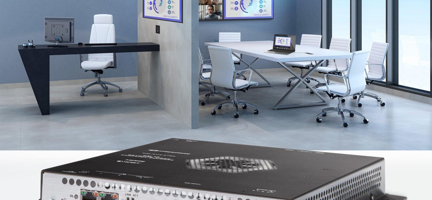 Crestron Adds AV-over-IP Bridging Technology to DM NVX Portfolio