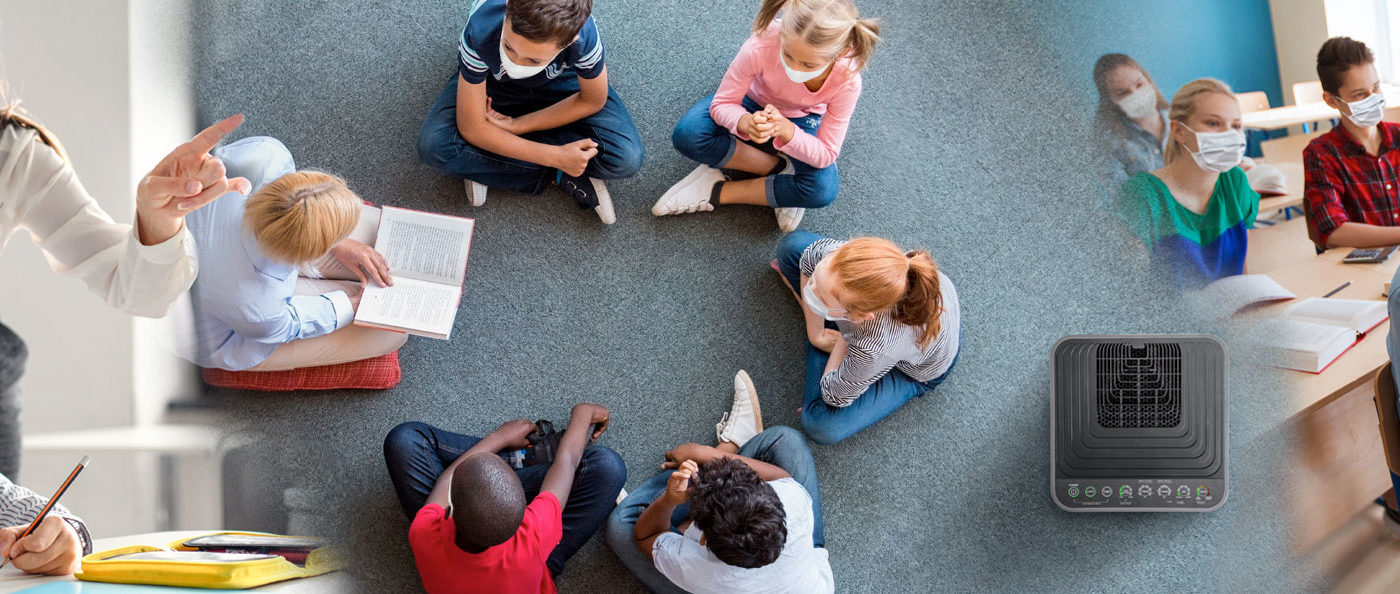 NuWave Launches OxyPure Air Purifier School Donation Program to Help Battle Coronavirus