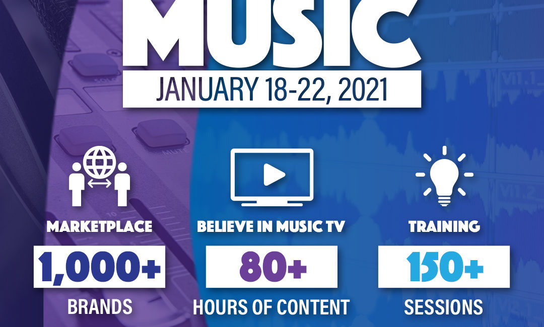 AES to Host Believe in Music Week Event Sessions Jan. 21 and 22