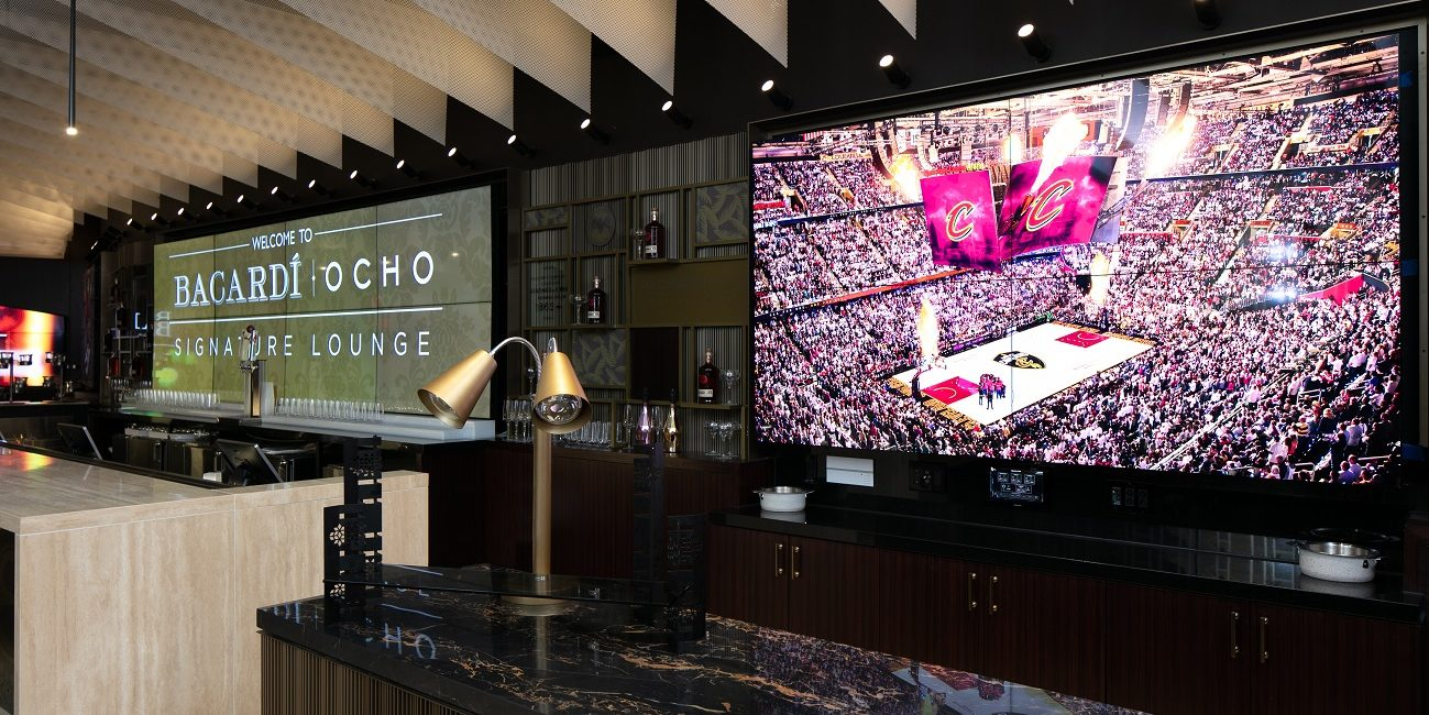 LG, Crescent Digital Bring 750 New Displays to the Home of Cleveland Cavaliers