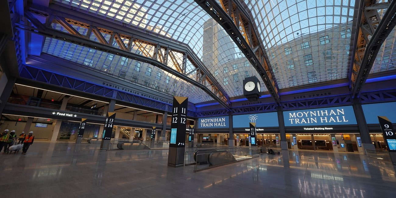 MSE Audio, Advance Sound Company Bring Intelligible Sound To NYC's Moynihan Train Hall