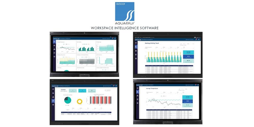 Avocor WorkSpace Intelligence Leverages Integrated Display Sensors