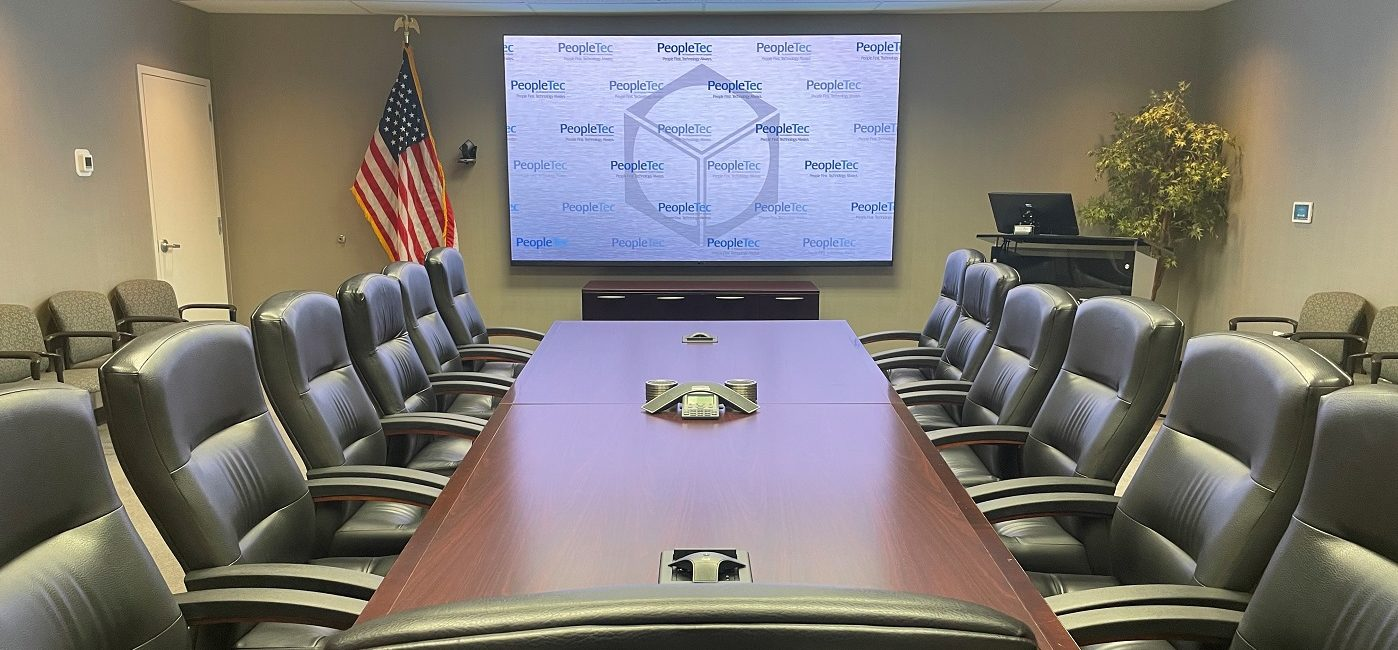 New 130-Inch LG Display Brightens Up Defense Contractor's Conference Room