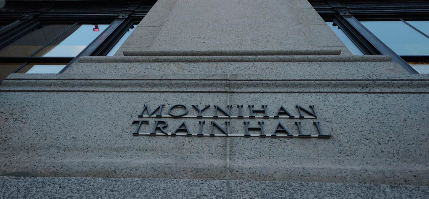 Moynihan Train Hall Serves as a Model for Speech Intelligibility
