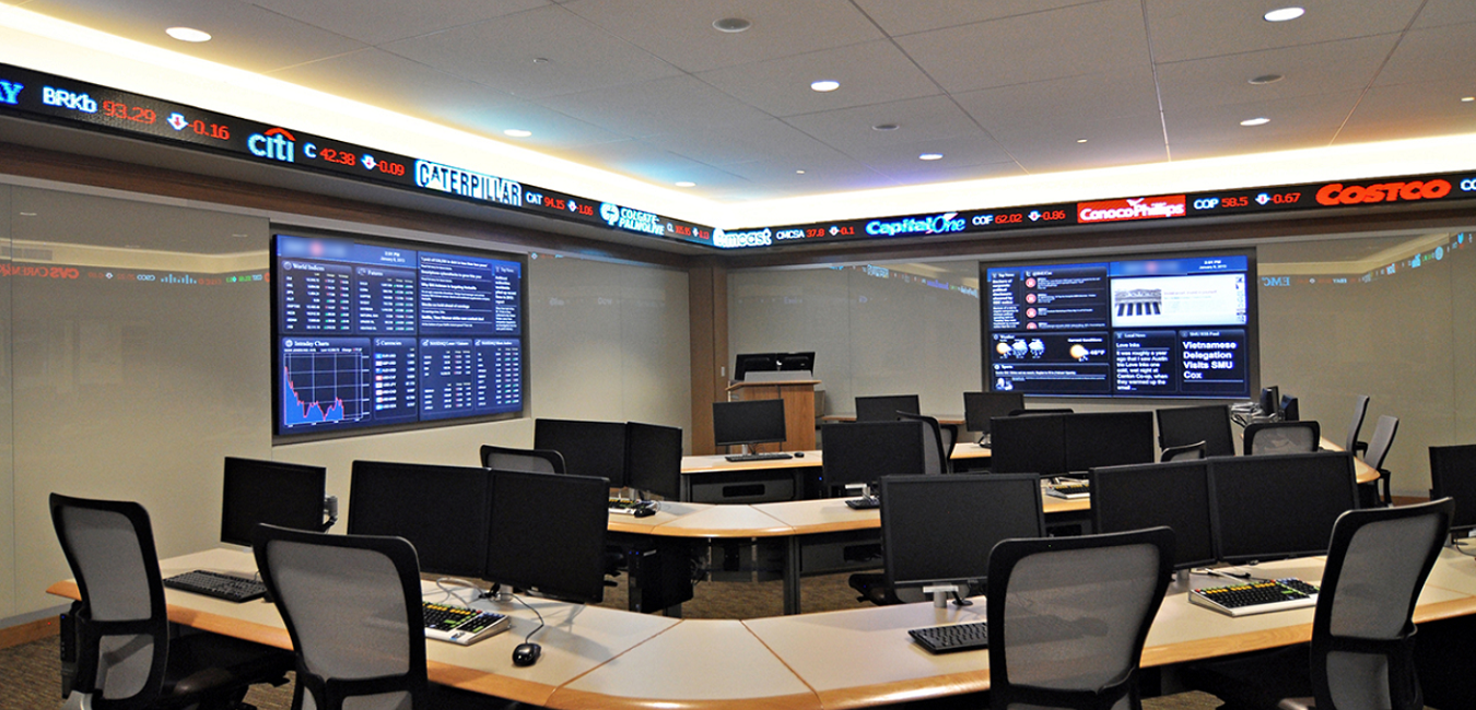 Using Digital Displays For Financial Information Is Becoming More Popular