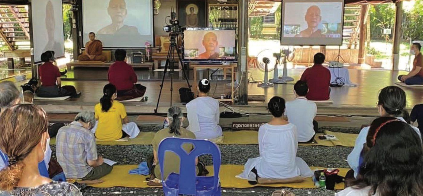 Thai Monastery Wat Na Pa Pong Broadcast Timeless Buddhist Teachings Online