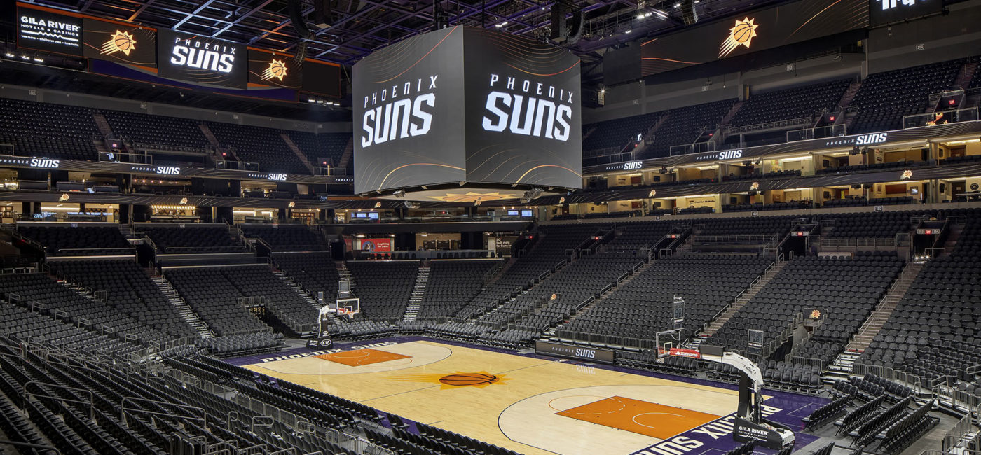 Phoenix Suns Arena Gets Facelift Ahead of NBA Season